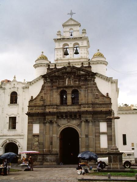 Quito Santuario De Guapulo Colonial Architecture Project