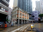 Wanchai, Shophouses on 60-66 Johnston Road