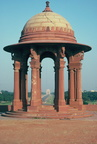 New Delhi, Rajpath, Secretariat Building, North Block, View of India Arch